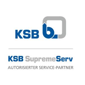 Die LEGER GmbH ist Zertifizierter KSB SuPremE Serv Premium Pumpen Partner
