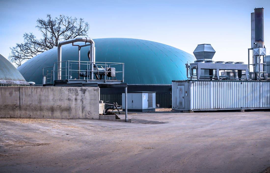 Technik für Biogas Erzeuger von der LEGER GmbH