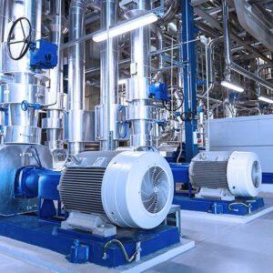 Industrie und Verfahrenstechnik